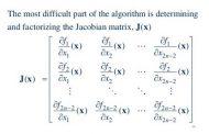 حل دستگاه معادلات به روش نیوتون رافسون|ریاضیات عددی کارشناسی ارشد مهندسی شیمی